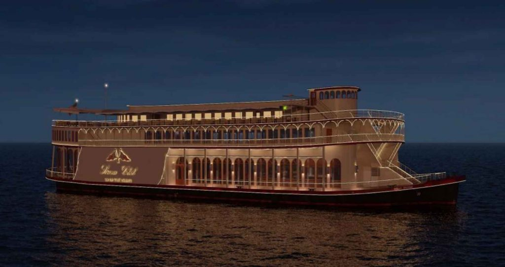 Conversion project management of an existing casino vessel into a dinner cruise vessel for Cara Bella Inc